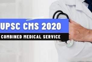 UPSC CMS 2020