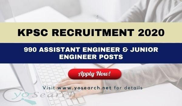KPSC Recruitment 2020