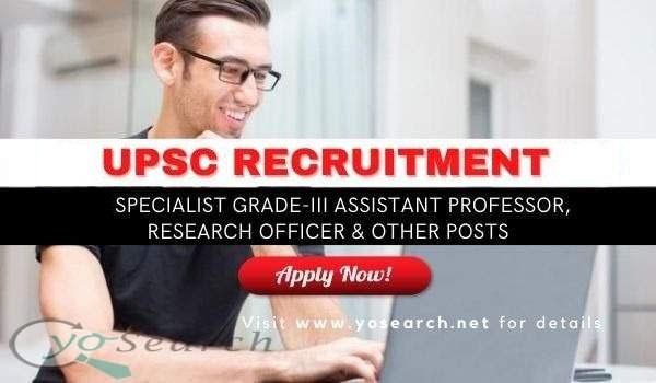 UPSC Assistant Professor 2021
