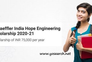 schaeffler india hope engineering scholarship