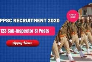 APPSC SI Recruitment 2020