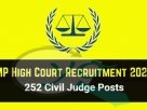 MP High Court Civil Judge Recruitment 2020