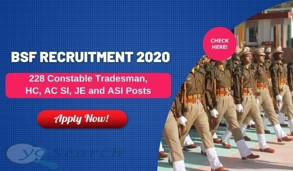 BSF Constable Recruitment 2020