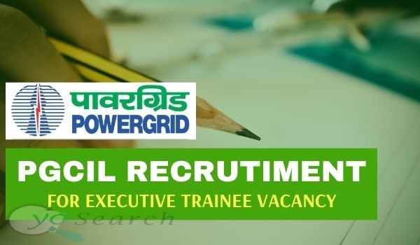 powergrid executive trainee recruitment