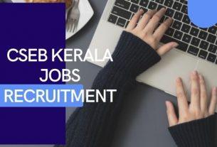 CSEB Kerala Jobs Recruitment