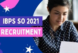 IBPS CRP SPL-X Specialist Officers Recruitment 2021