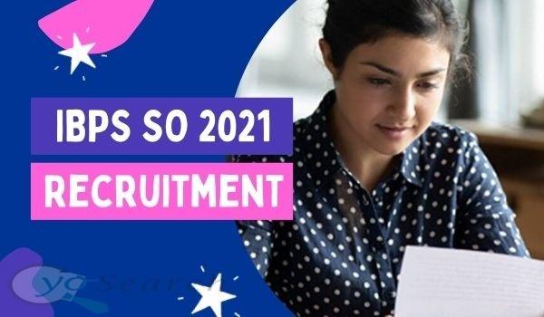 IBPS CRP SPL-X Specialist Officers Recruitment 2021
