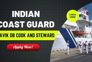 Indian Coast Guard Navik DB Recruitment