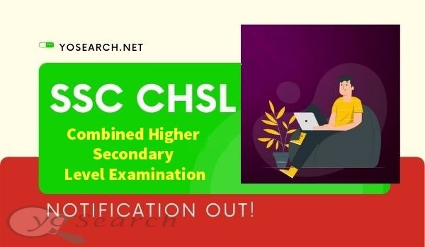 SSC CHSL 2020 Notification