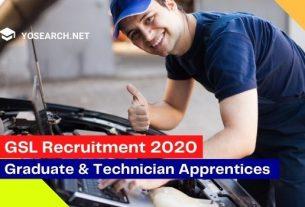 gsl recruitment 2020