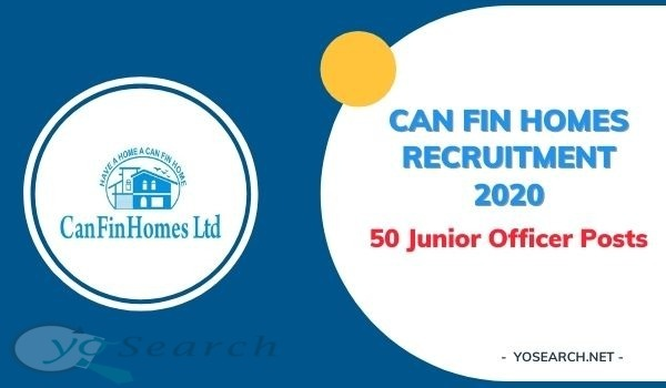 Can Fin Homes Recruitment 2020
