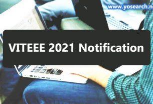viteee 2021 notification