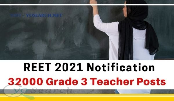 REET Recruitment 2021 Notification