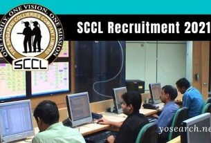 SCCL Recruitment 2021