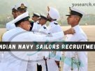 Indian Navy Sailor Recruitment 2021