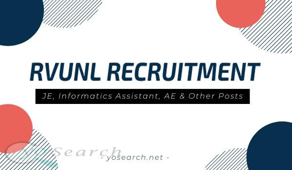 Rajasthan RVUNL Recruitment