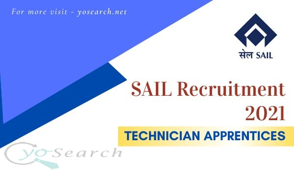 SAIL Technician Apprentices Recruitment 2021