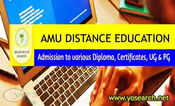 AMU Distance Education Admission 2021