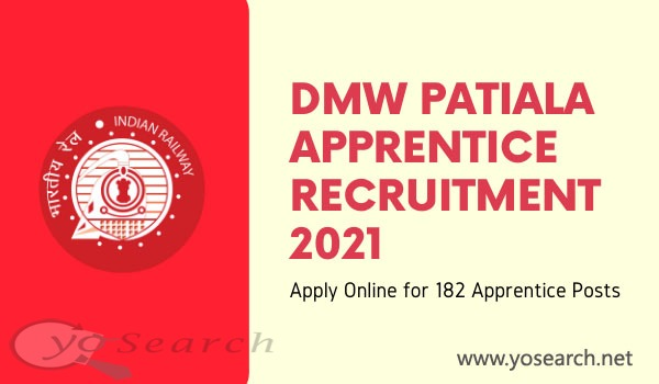 DMW Patiala Apprentice Recruitment 2021