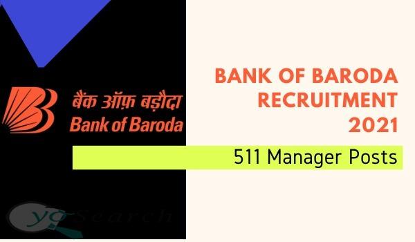 Bank of Baroda HR Recruitment 2021