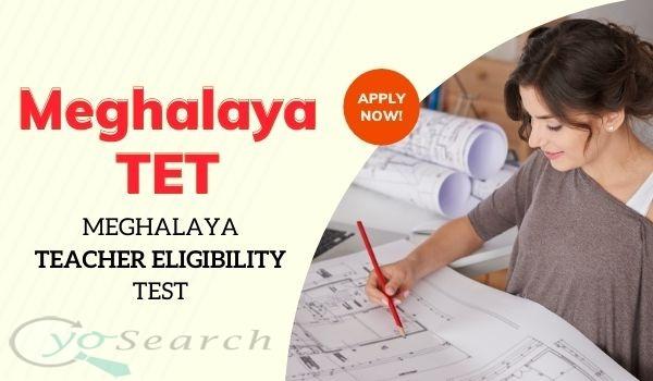 Meghalaya TET Notification 2021