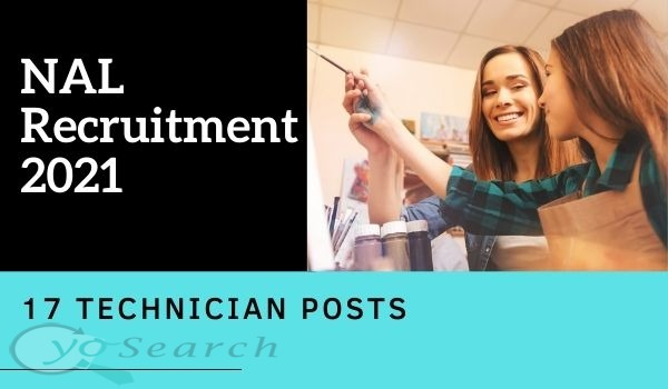 NAL Technician Recruitment 2021