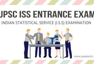 UPSC ISS Entrance Exam 2021
