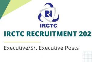 IRCTC Recruitment 2021