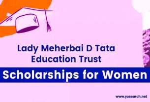 Lady Meherbai D Tata Education Trust Scholarships 2021