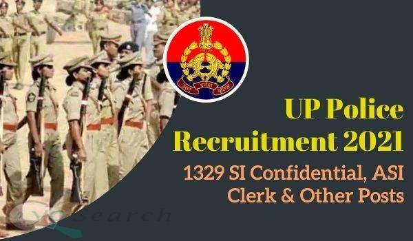 UPPRPB UP Police ASI Recruitment