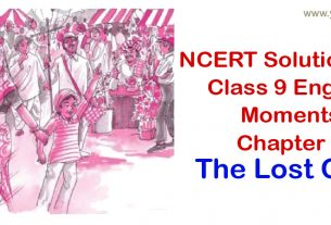 NCERT Solutions for Class 9 English Moments Chapter 1 The Lost Child