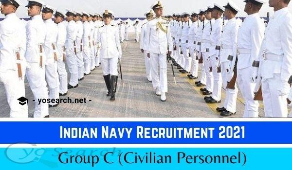 Indian Navy Group C Recruitment 2021