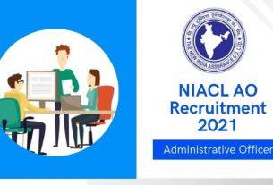 niacl ao notification 2021
