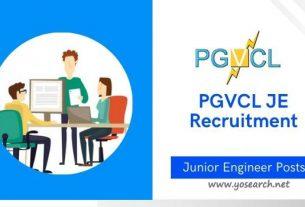 pgvcl je recruitment 2021