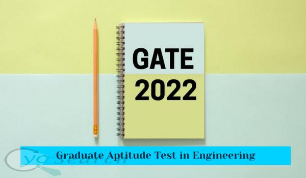 gate exam 2022