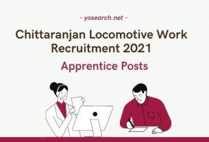 CLW Apprentice Recruitment 2021