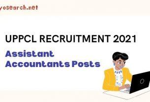 uppcl assistant accountant recruitment 2021