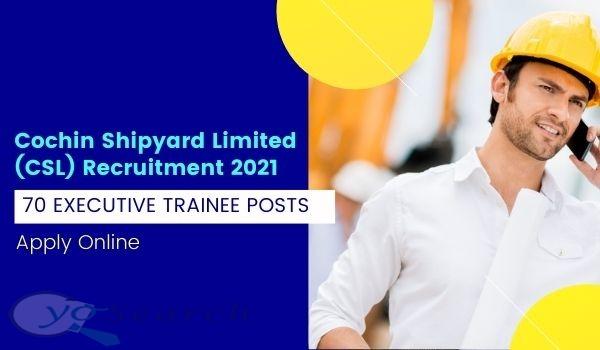 CSL Executive Trainee Recruitment 2021