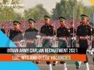 Indian Army Civilian Recruitment 2021