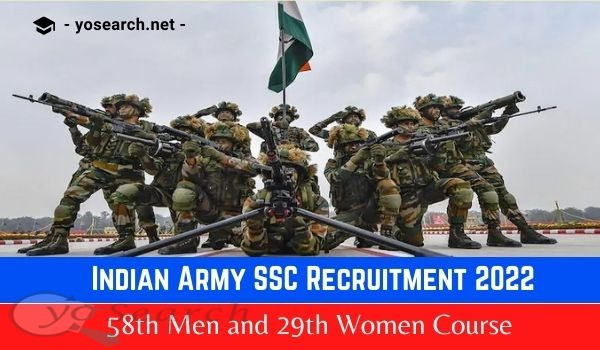 Indian Army SSC Recruitment 2022