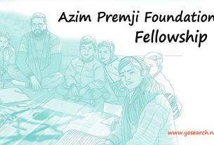 azim premji foundation fellowship 2022