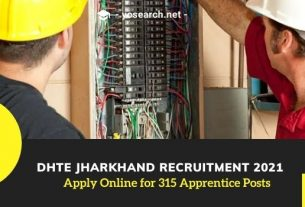 dhte jharkhand apprentice recruitment 2021